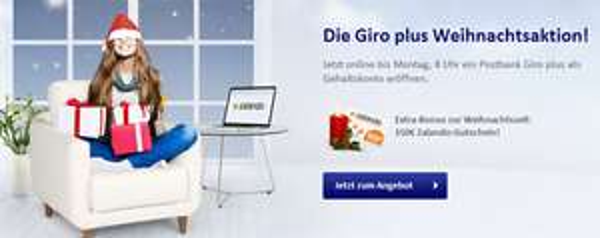Super! Happy Hour bei der Postbank für das Giro plus Konto *Update* jetzt mit 150 € Zalando-Gutschein