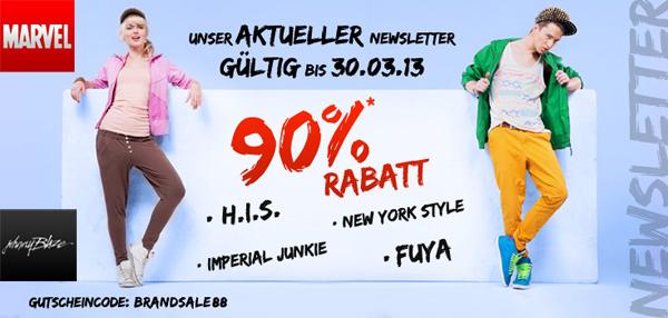 Hoodboyz: 90% Rabatt auf H.I.S., New York Style, Imperial Junkie, Fuya, Johnny Blaze und Marvel