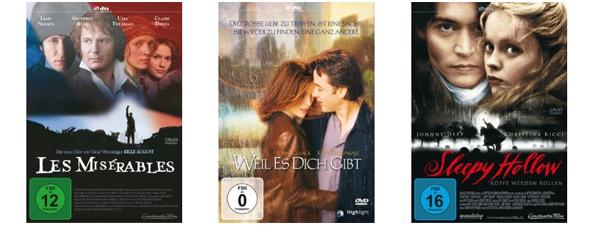 Film- und Serienschnäppchen bei Amazon - z.B. 2 Blu-rays für 16 € oder 5 DVDs für 20 €
