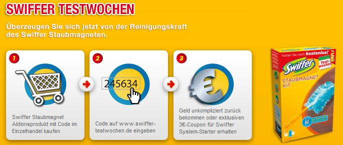 Testwochen bei Swiffer: Staubmaget komplett kostenlos testen *Update* letzte Chance!
