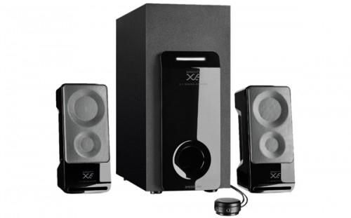 2.1 Lautsprechersystem Speedlink Gravity XE für 33 € bei Saturn - bis zu 35% sparen
