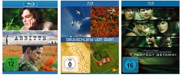 Amazon: Preissenkungen bei einigen Blu-rays - Filme ab 3,95 €