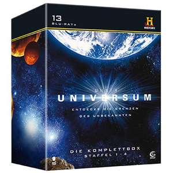 Unser Universum - Staffel 1-4 (13 Blu-Rays) für 43,21€