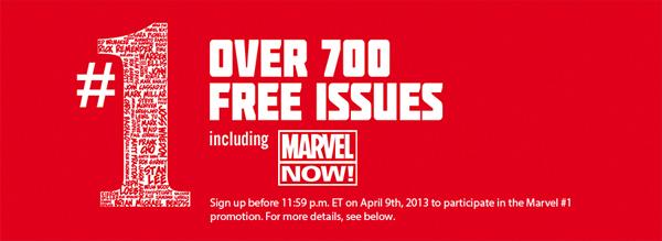 Marvel: mehr als 700 Comics komplett kostenlos herunterladen
