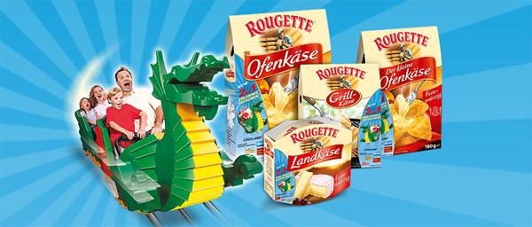 Rougette: 2 für 1 Eintrittsgutschein für Freizeitparks und Attraktionen