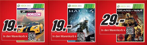 Gute Technik- und Spieleangebote bei Media Markt - z.B. Forza Horizon ab 19 €
