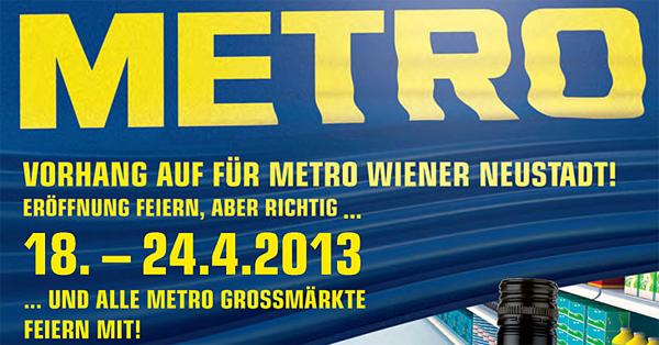 Metro Österreich: bundesweit sehr gute Angebote zur Eröffnung in Wiener Neustadt - z.B. Wii Mini um 71,99 €