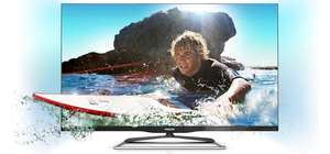 Philips 42PFL6907K (3D, Ambilight, LED-Backlight, Triple-Tuner) für 666 € bei Amazon
