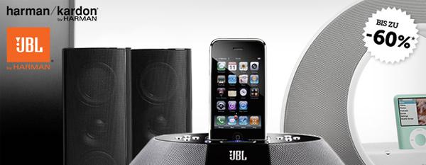 Brands4Friends: Audio-Produkte von AKG, Harman Kardon und JBL mit sehr guten Rabatten