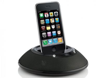 JBL On Stage Micro II - portables Lautsprechersystem für iPhone/iPod für 29,99 € - 21% Ersparnis
