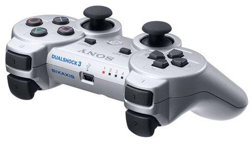 Sony PlayStation 3 Dualshock Controller (silber) für 32,21 € bei Voelkner