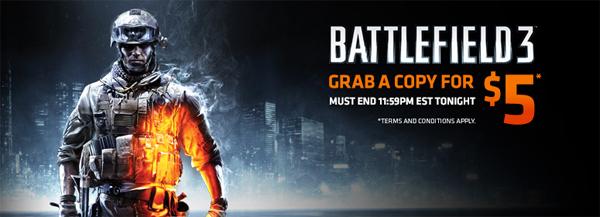Battlefield 3 für 4 € bei EA Origin in Australien kaufen