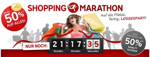 Shopping Marathon bei Rakuten: bis zu  50-fache Superpunkte kassieren und sparen