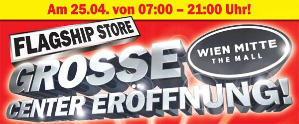 """Neueröffnung Media Markt Wien Mitte """"The Mall"""" mit einigen guten Angeboten *Update* nur heute!"""