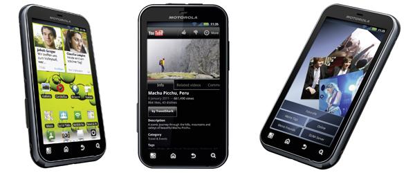 Android-Smartphone Motorola Defy+ ab 119 € - bis zu 19% Ersparnis