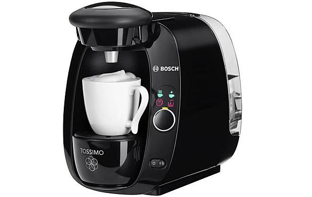 Kaffeekapselmaschine Bosch Tassimo TAS2002 für 35 € + 40 € Kapselguthaben