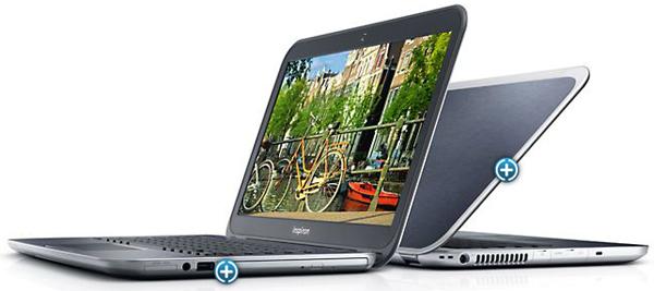 Ultrabook Dell Inspiron 14z (Core i7, 8 GB RAM, Radeon HD 7570M) für 499 €