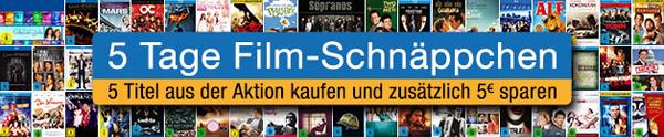 5 Tage Film-Schnäppchen bei Amazon - Blu-rays ab 7,97 € oder Box-Sets ab 34,97 €