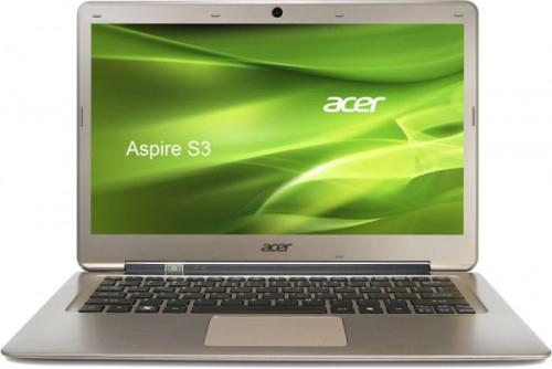 Ultrabook Acer Aspire S3-391 (Core i7, 128 GB SSD, 4 GB RAM) für 599 €