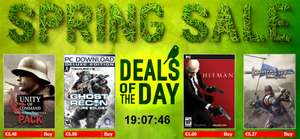 Spring Sale bei Gamersgate - z.B. Hitman: Absolution (PC) für 5,63 €