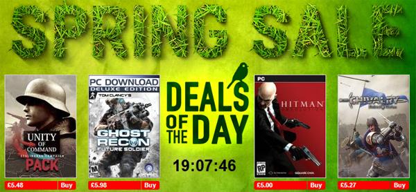 Spring Sale bei Gamersgate - z.B. Hitman: Absolution (PC) für 5,63 €