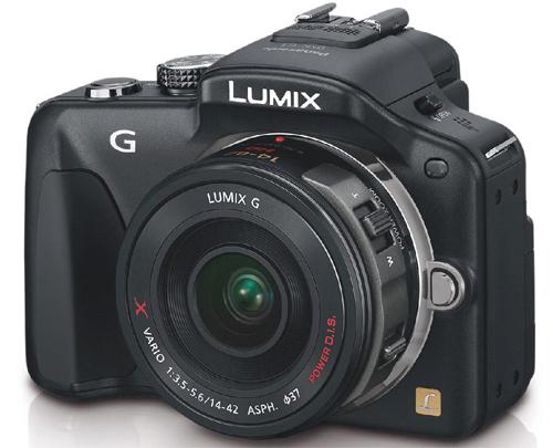 Systemkamera Panasonic Lumix DMC-G3 + Objektiv X Vario 14-42mm für 351,99 € - 29% sparen