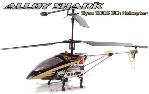 RC-Helikopter Alloy Shark S006 für 39€ bei Preisbock