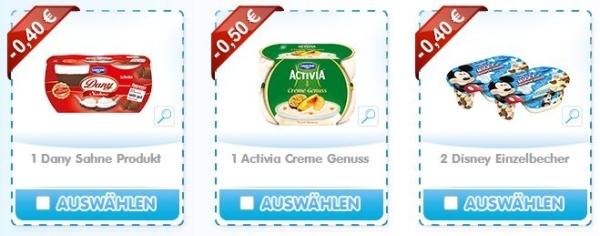 Joghurt-Aktion: Bis zu 20 € mit Danone Coupons sparen