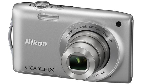 Einsteiger-Digitalkamera Nikon Coolpix S3300 für 59,95 € bei Amazon