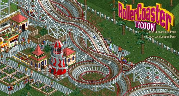 Rollercoaster Tycoon Deluxe für 1,26 € bei Gamersgate