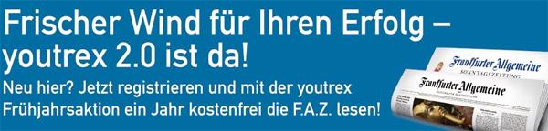 Jahresabo der Frankfurter Allgemeinen Zeitung gratis & selbstkündigend für Studenten