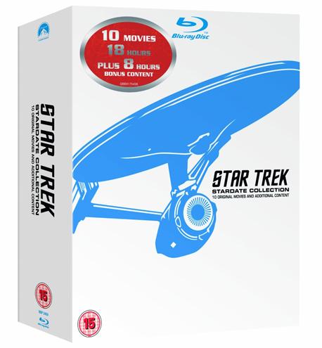 Star Trek: Stardate Collection - Teil 1 bis 10 (Blu-ray) für 76,30 € bei Amazon UK *Update* jetzt für 60 €