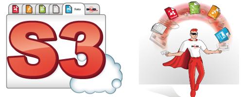 Cloudspeicher-Dienst S3 mit 512 GB Speicher 1 Jahr lang gratis nutzen - keine Kündigung nötig