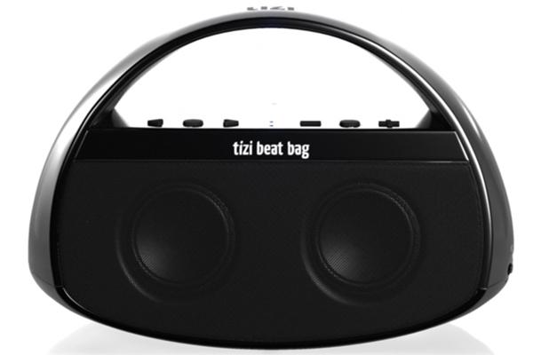 Mobiler Bluetooth-Lautsprecher equinux tizi beat bag für 49,99 € - 38% Ersparnis