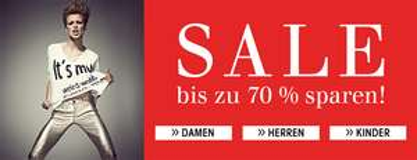 Sale bei Trendfabrik mit bis zu 70% Rabatt und weitere 20% sparen mit Gutschein