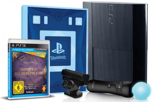 Sony PlayStation 3 SuperSlim (12 GB) + Das Buch der Zaubersprüche für 155 €
