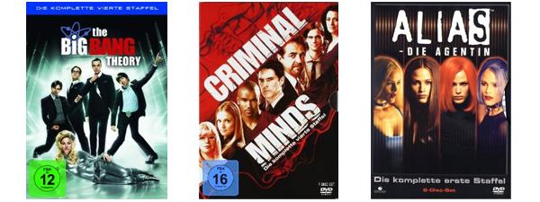 Neue Filmangebote bei Amazon - z.B. Blu-rays für je 4,97 € oder 2 TV-Serien-Staffeln für 20 €