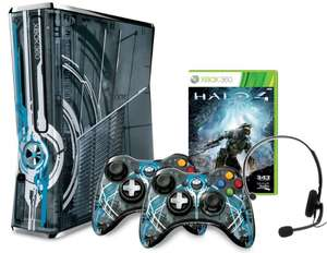 Xbox 360 Slim (320 GB) in der Halo 4 Limited Edition ab 222 €