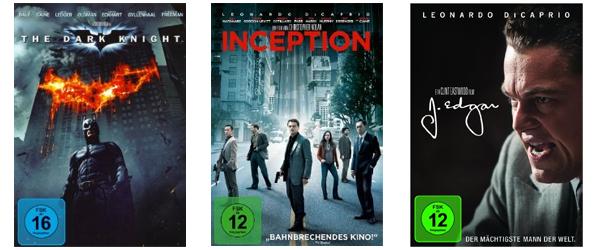 Neue Filmaktionen bei Amazon - z.B. 2 Blu-rays für 16 € oder Boxsets im Preis reduziert