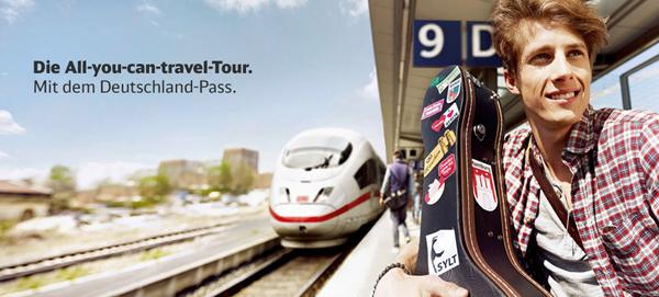 Deutschland-Pass: 1 Monat mit der Bahn durch ganz Deutschland fahren – ab 109 €