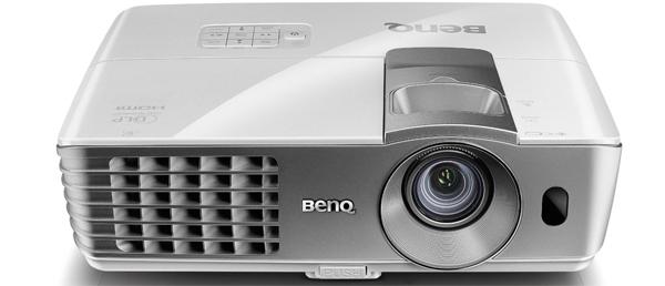 BenQ W1070 - DLP-Beamer mit 3D-Unterstützung & Full HD-Auflösung für 700 € *Update* jetzt für 599 €