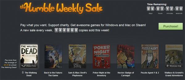 The Humble Indie Bundle 8 & Humble Weekly Sale - Spiele zum selbstgewählten Preis kaufen