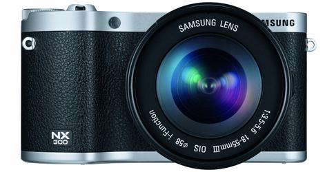 Systemkamera Samsung NX300 + 18-55 mm-Objektiv für 539 € - 13% sparen