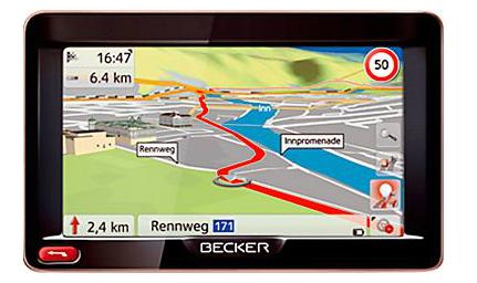 Navigationssystem Becker Ready 50 LMU für 129 € bei Saturn Österreich - 22% sparen