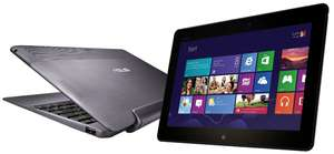 Windows 8 RT-Tablet Asus Vivo Tab TF600T (32 GB) + Tastaturdock für 349 €