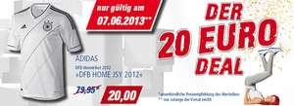 Adidas DFB Heimtrikot 2012 für 20 € bei Intersport SportPoint - 44% sparen