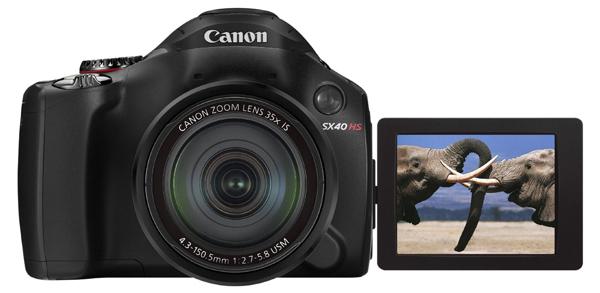 Canon PowerShot SX40 HS (12,1 MP, Ultra-Weitwinkel, 35x opt. Zoom) für 260 € *Update* jetzt 201 € - 21% sparen