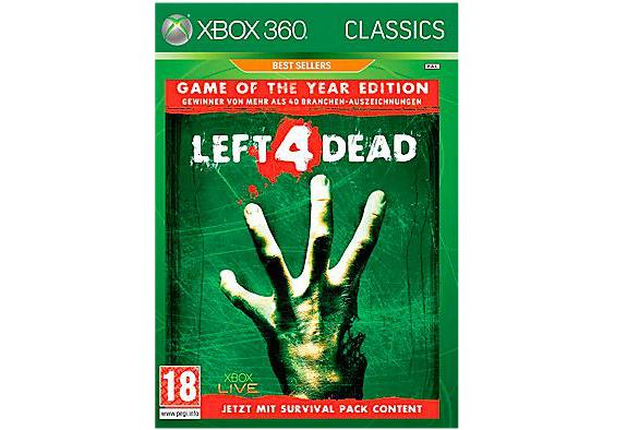 Left 4 Dead - Game of the Year Edition (Xbox 360) für 5 € bei Saturn Österreich