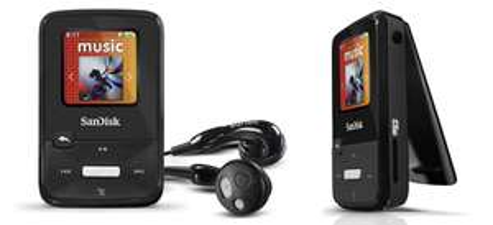 MP3-Player SanDisk Sansa Clip Zip (8 GB) für 41,99 €