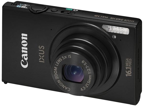 Canon Ixus 240 HS - digitale Kompaktkamera mit Touchscreen und WLAN für 99,90 €